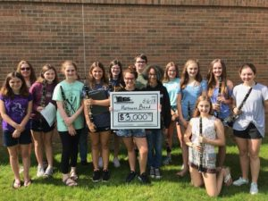 Mattress Fundraiser 2018 Cheque