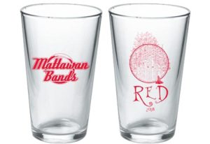 RED 2018 Commemorative glass