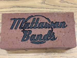 Mattawan Bands Legacy Walk Sample brick